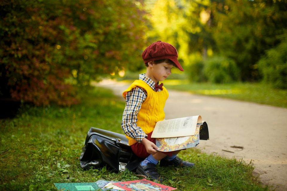 learning to read, boy reading