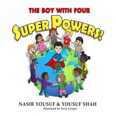 the boy with four super powers storybook