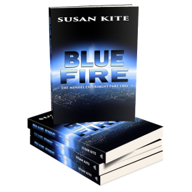 Blue Fire by Susan Kite