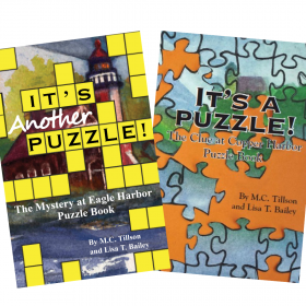 It's a Puzzle Bundle: The Clue at Copper Harbor and The Mystery of Eagle Harbor Puzzle Books by M.C. Tillson